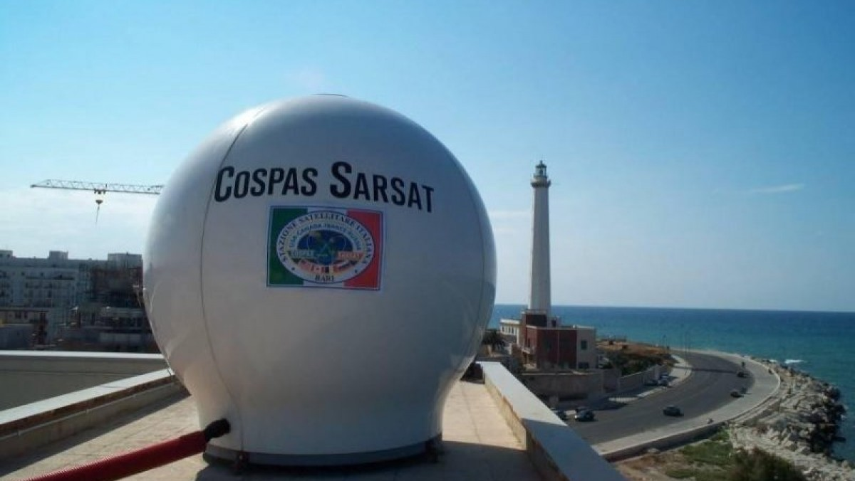 Il Comandante in Capo di Maridipart Taranto in visita alla Stazione Satellitare Italiana