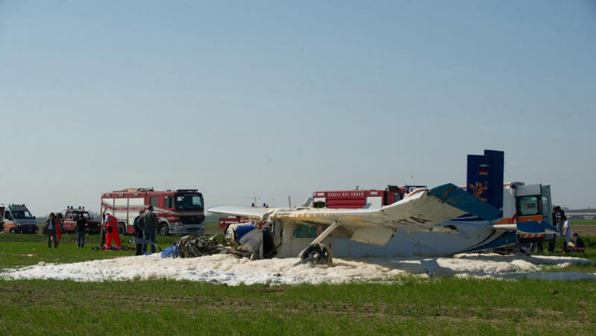 Ravenna: incidente aereo rilevato dai satelliti Sarsat.