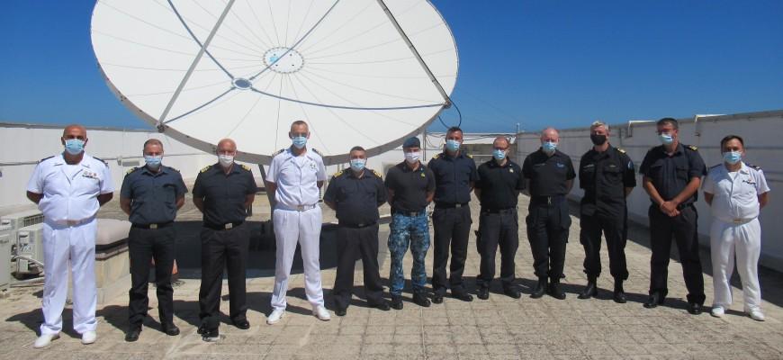 Visita degli Ufficiali del 1° corso CRF (Coordinator Rescue Forces)