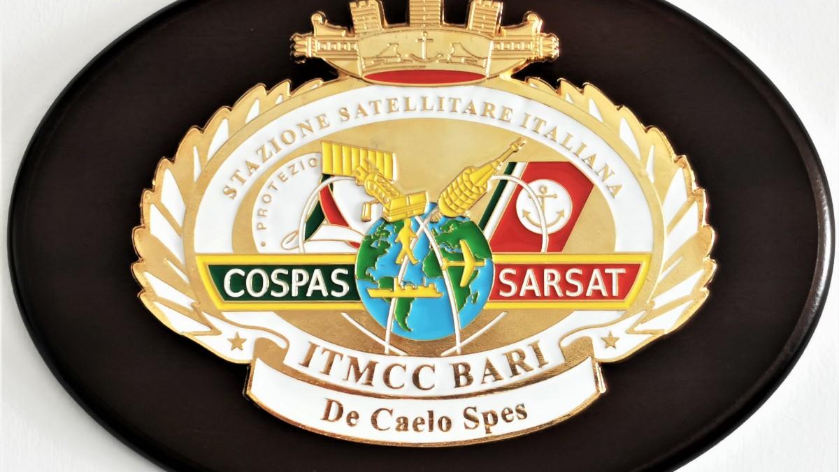 I contrammiragli Sergio Liardo e Giuseppe Aulicino incontrano il personale militare della Stazione Satellitare