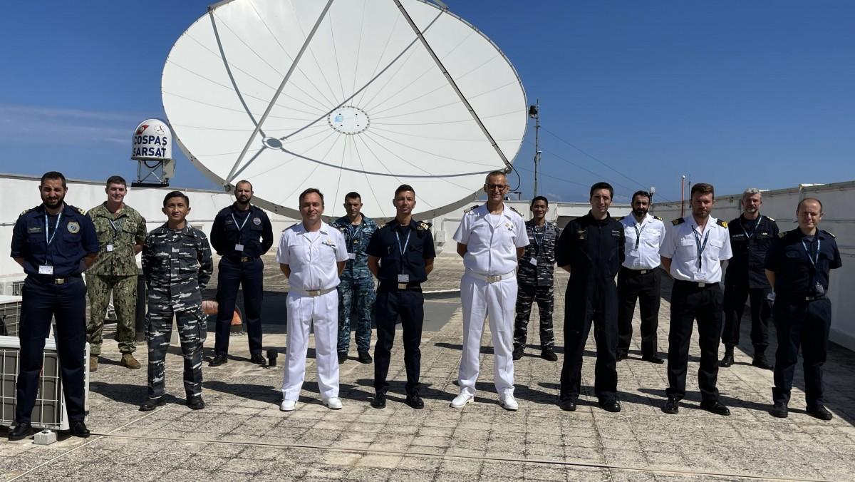 Visita degli Ufficiali del 2° corso CRF (Coordinator Rescue Forces)